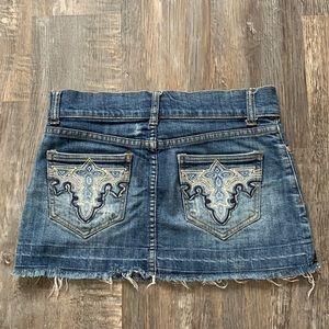 Costa Blanca cute jean skirt